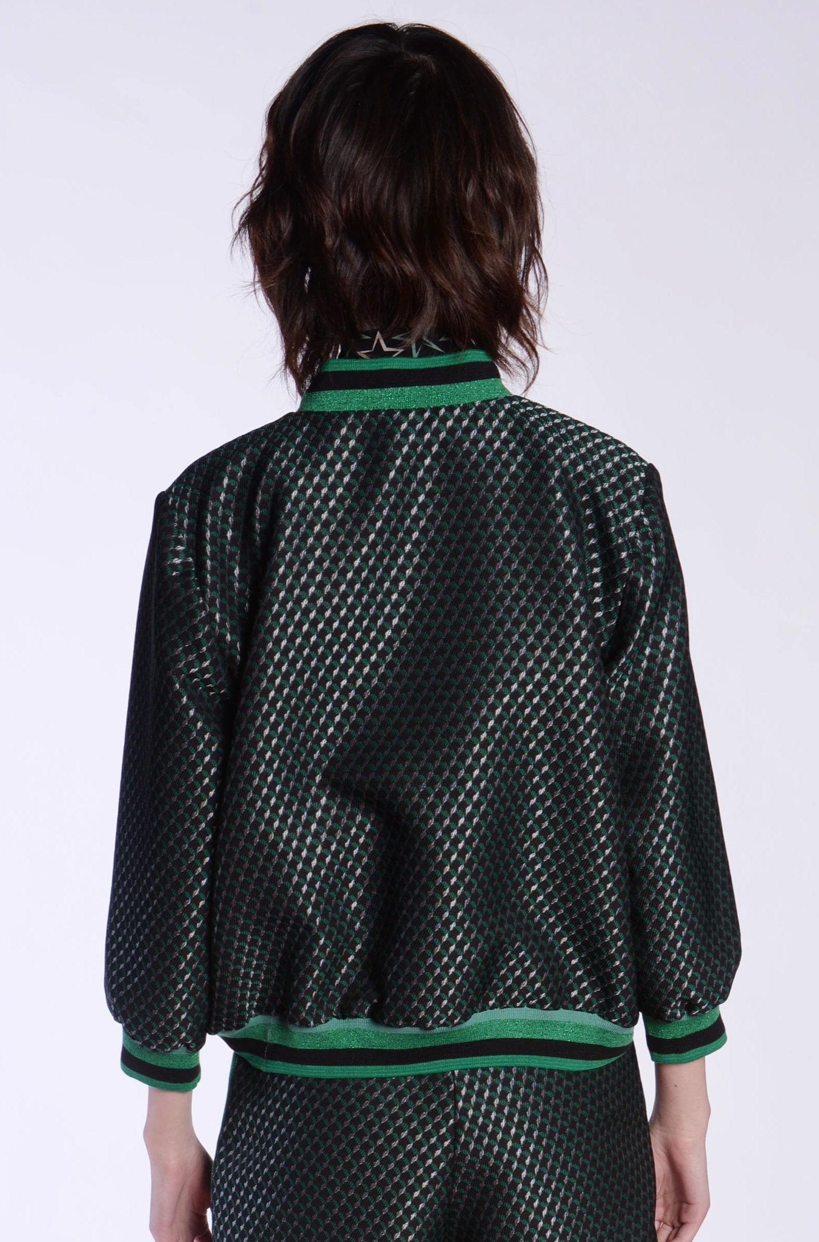 Diamonds Are Forever Jacquard Jacket - Anna Sui