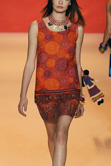 Vintage Sun Print Summer Dress <br>Spring 2009 </br> - Anna Sui