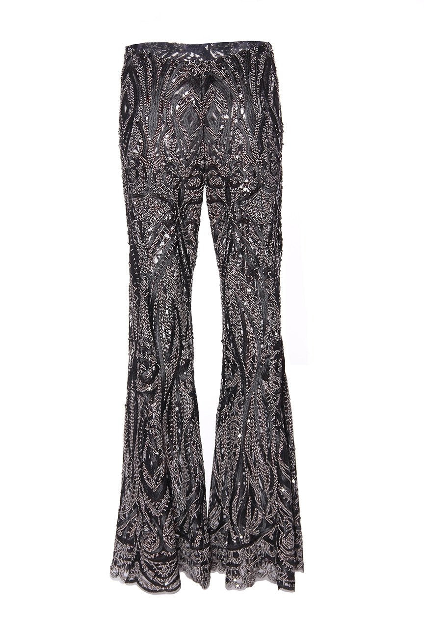 Peacock Scallop Lace Pants
