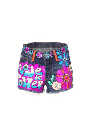 Tossed Bouquet Shorts