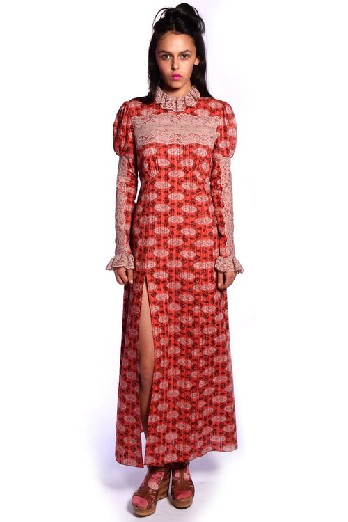 Rosine Rose Maxi Dress - Anna Sui