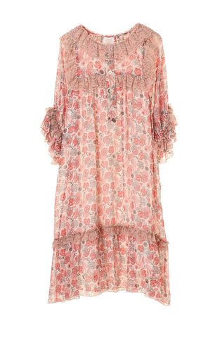 Paisley Garden Border Maxi Dress