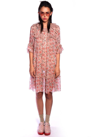 Daisy Delights Button Front Dress