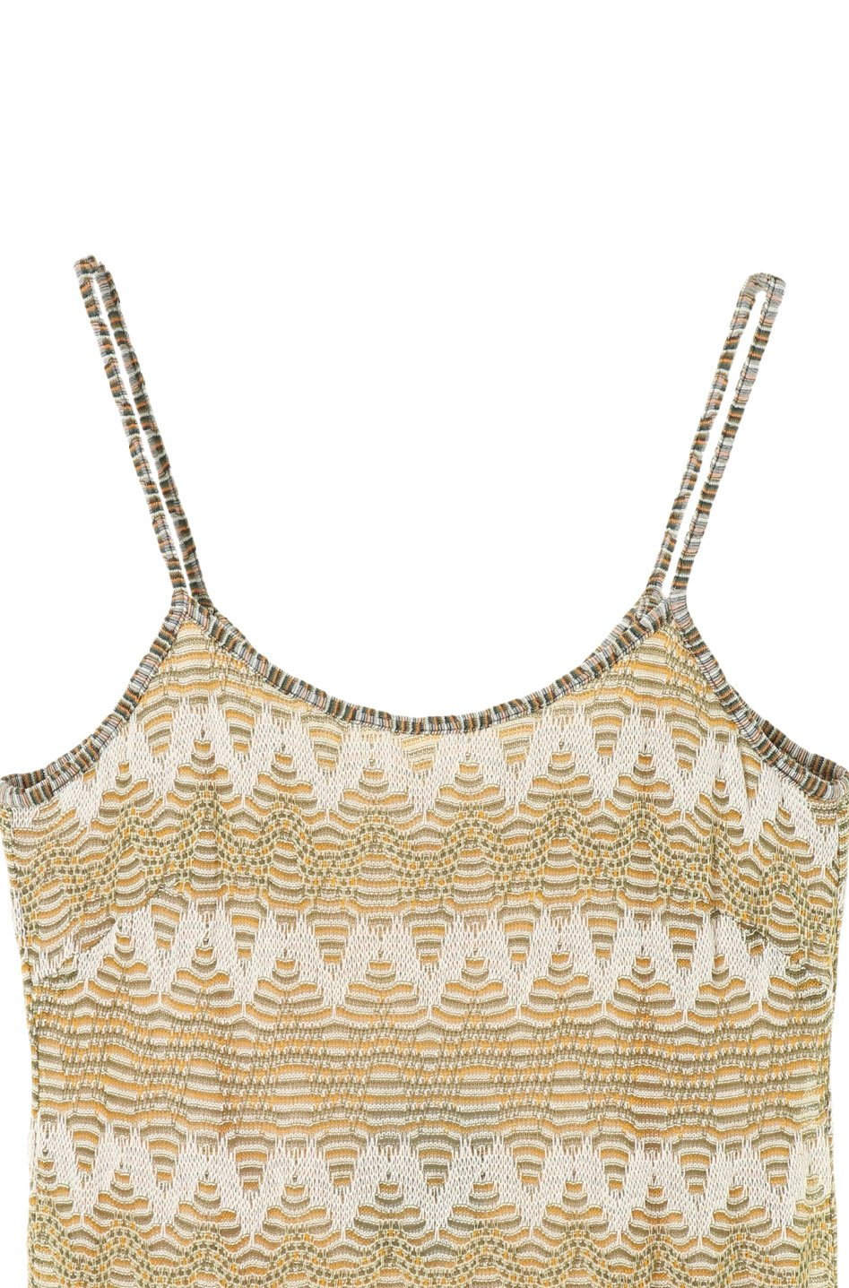 Zig Zag Knit Tank Dress - Anna Sui