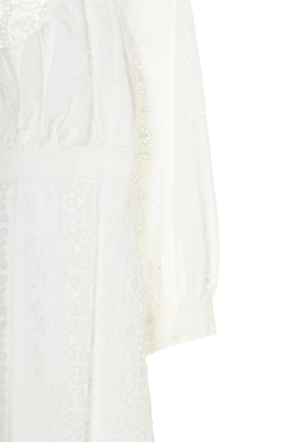 Eyelet Collage Dress - Anna Sui