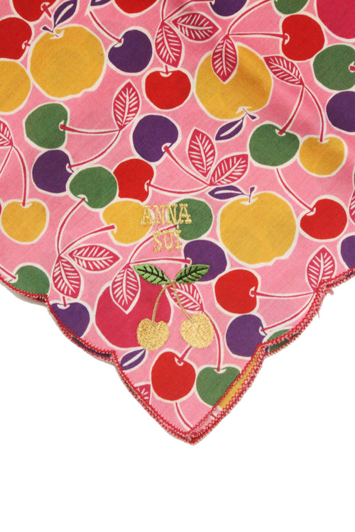 Cherry Apple Handkerchief