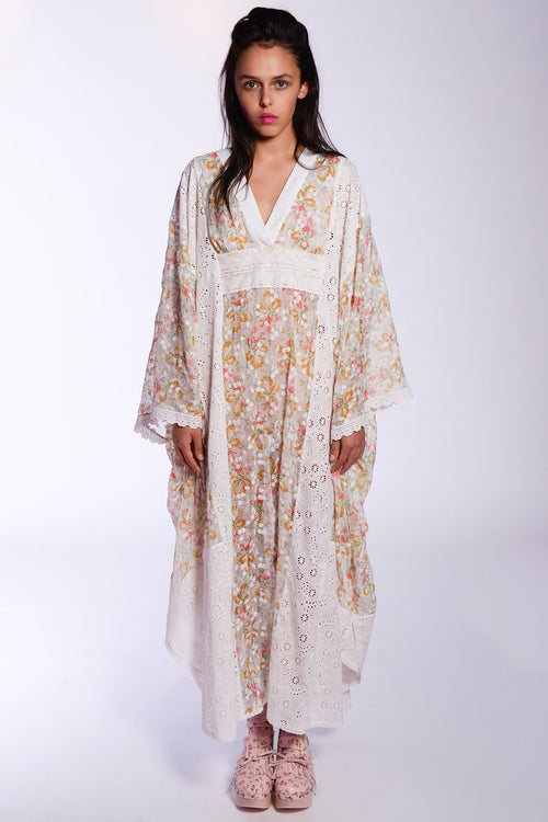 Ribbon of Roses Caftan - Anna Sui