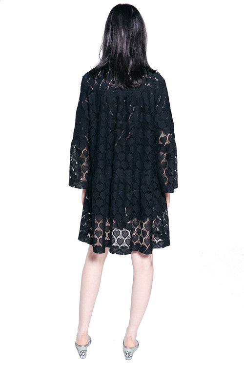 Hearts Lace Jacket - Anna Sui