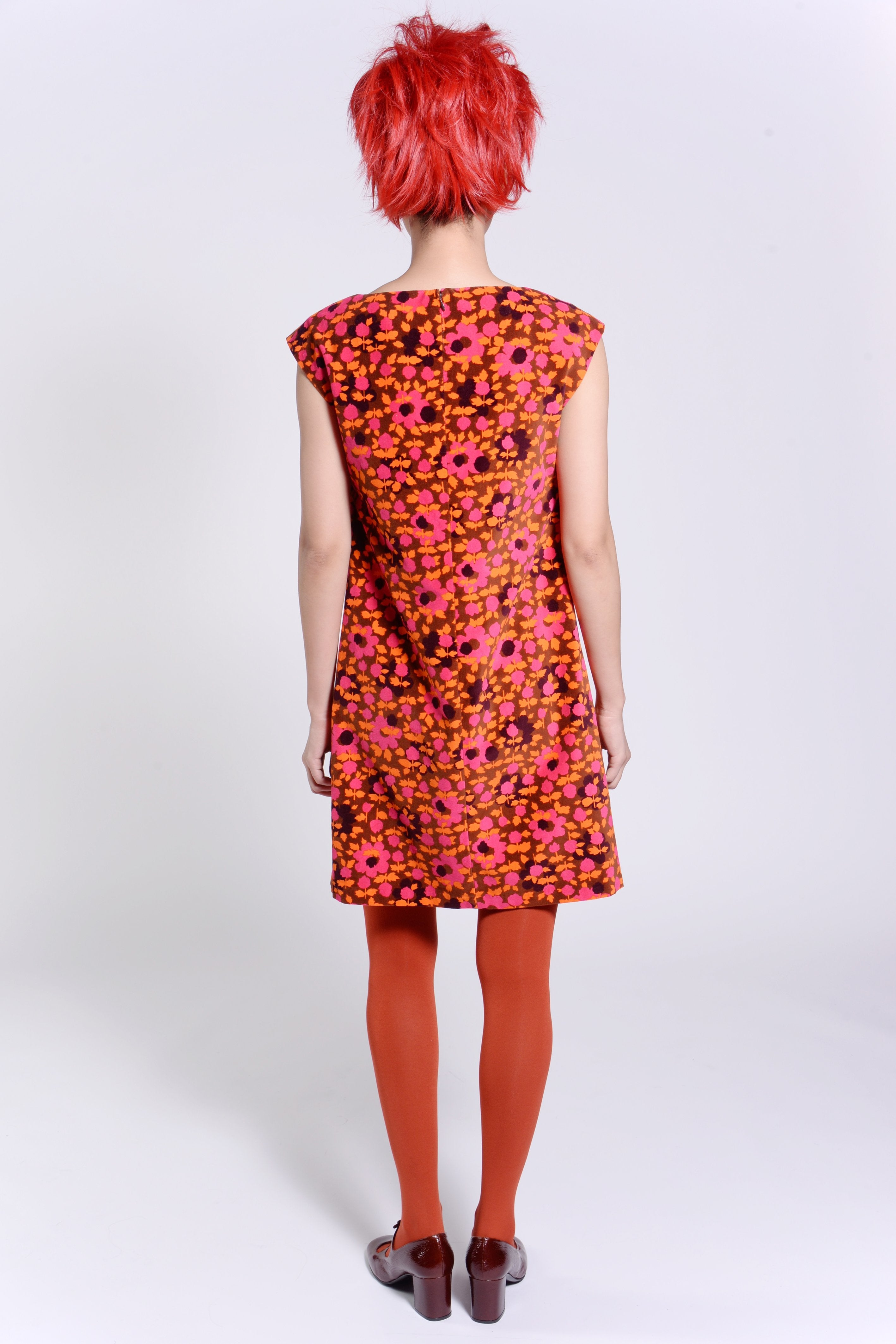 Falling For Flowers Velveteen Tie-Front Dress - Anna Sui
