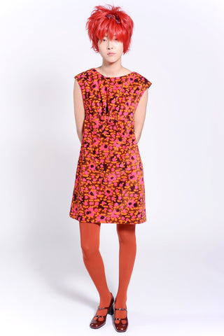Begonia Blend High Neck Dress