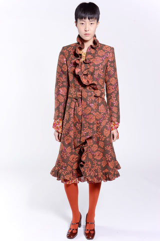 Tossed Bouquet Coat