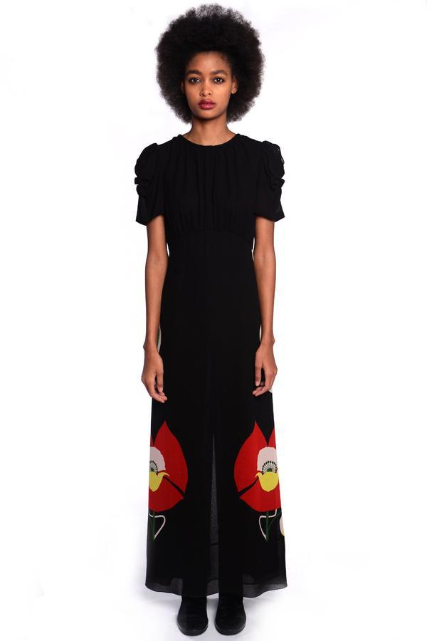 Poppy Road Long Dress - Anna Sui
