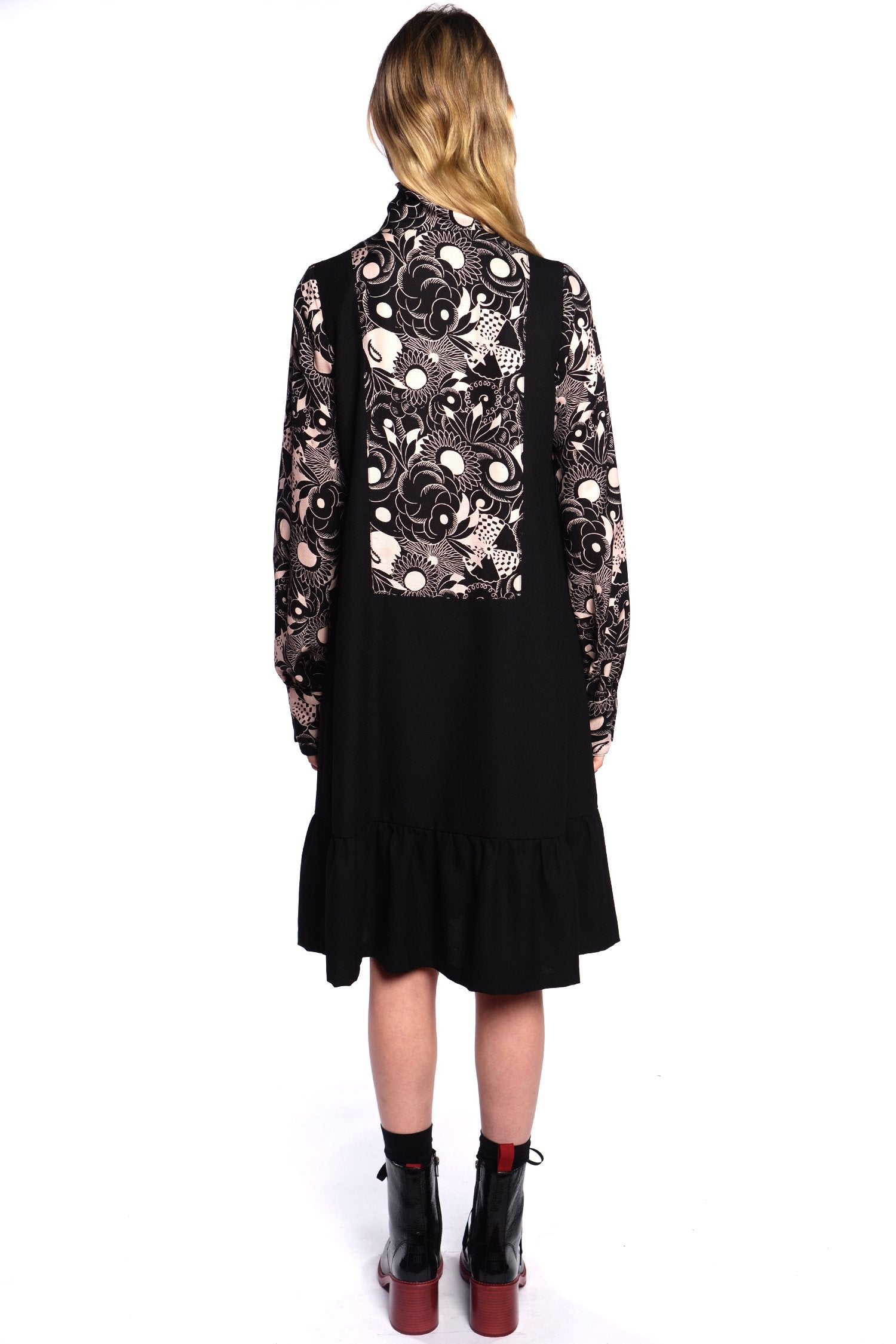 Swirling Botanicals Dress - Anna Sui