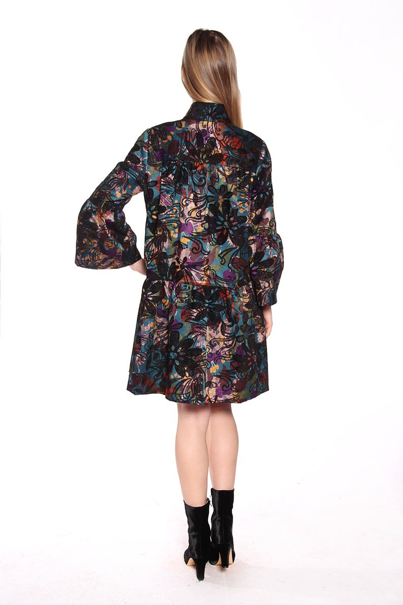 Sugar Plums Jacquard Jacket - Anna Sui