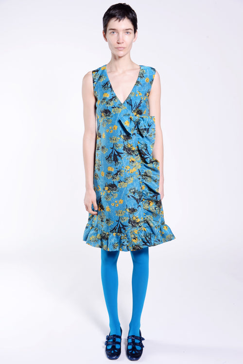 Field of Flowers Sleeveless Dress - Anna Sui