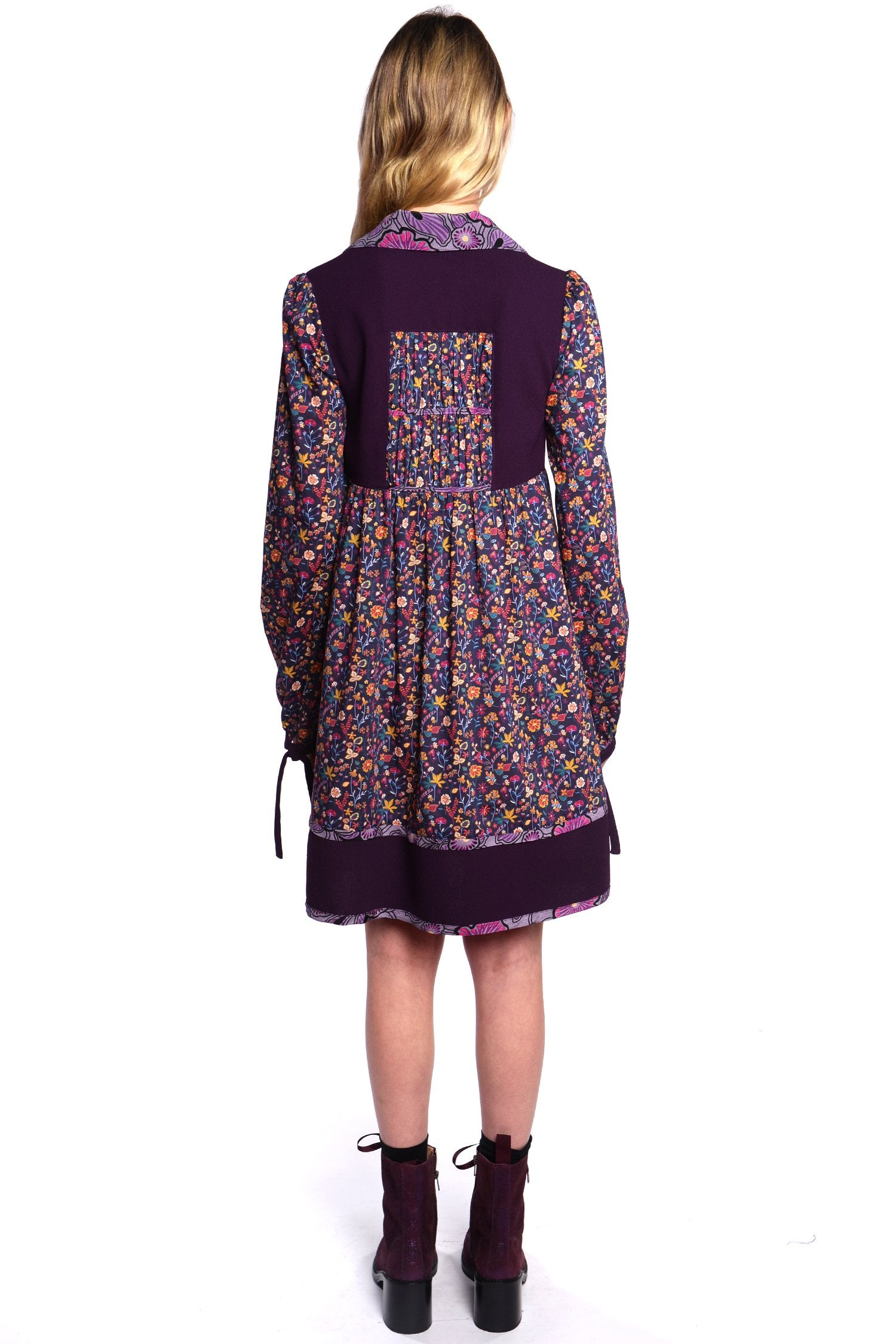 Botanist Diary Tie Dress - Anna Sui
