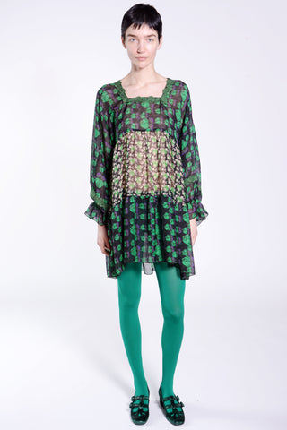 James Coviello for Anna Sui Pop Tweed Knits Pullover