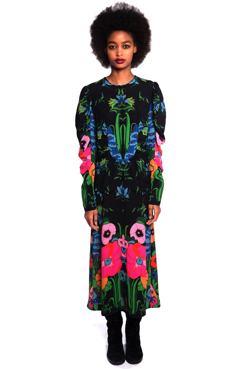 Phantasm Garden Dress - Anna Sui
