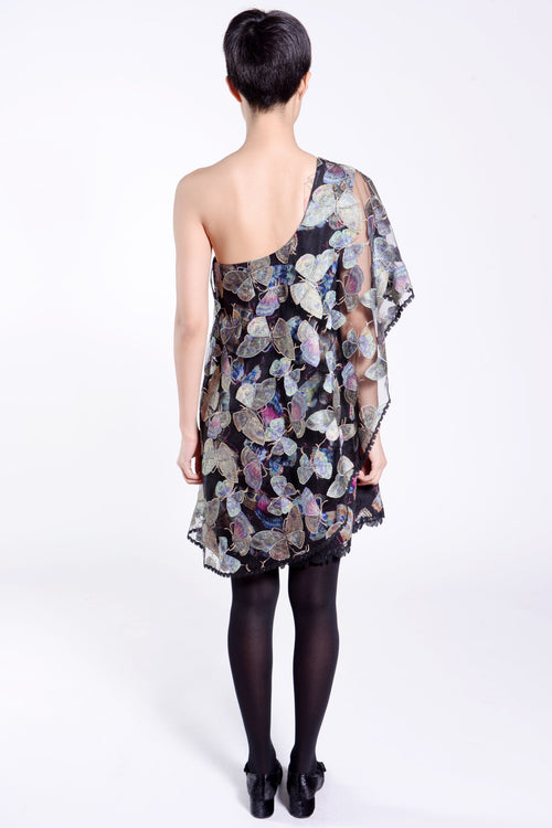 Catching Butterflies Asymmetrical Dress - Anna Sui