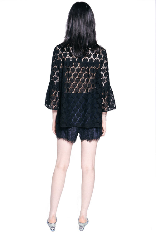 Hearts Lace Top - Anna Sui