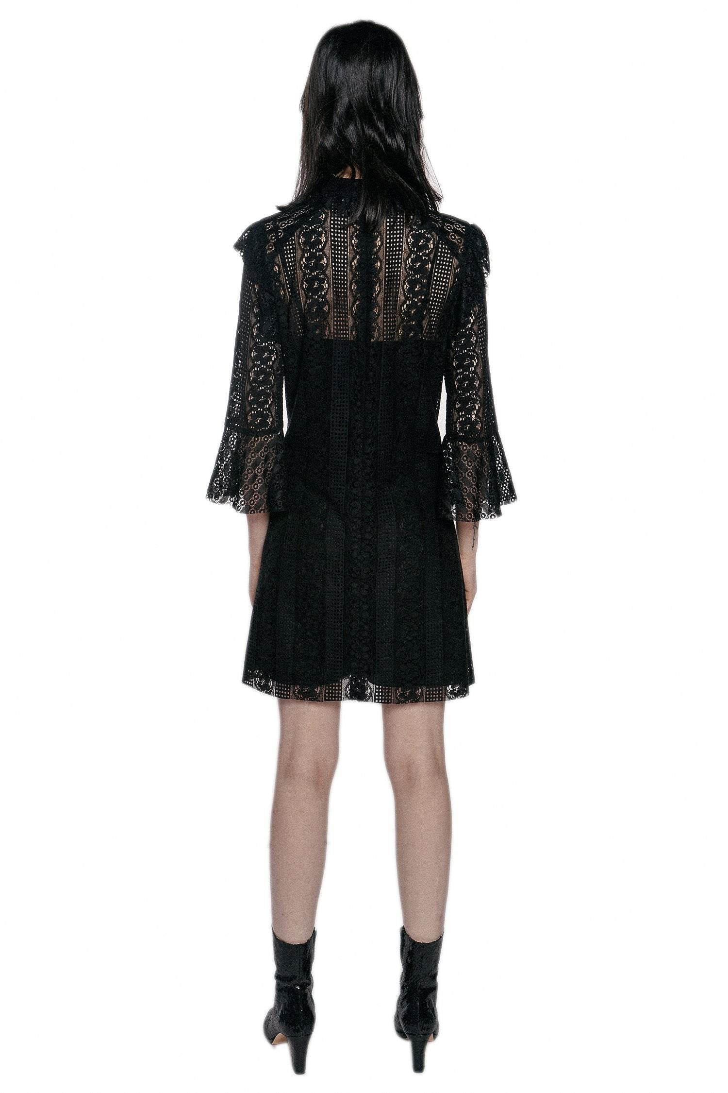 Midnight Medley Dress - Anna Sui
