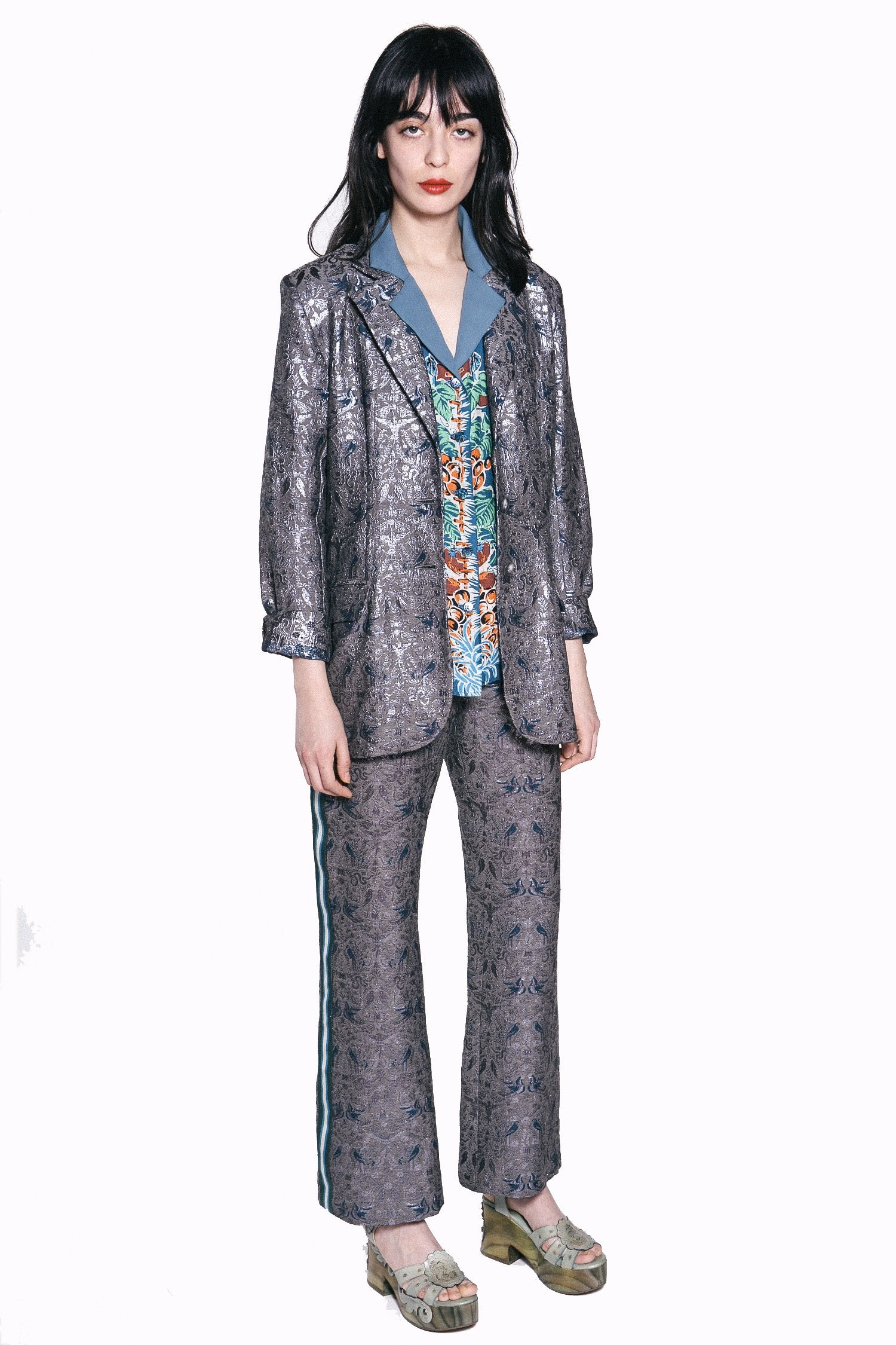 Garden of Eden Jacquard Jacket