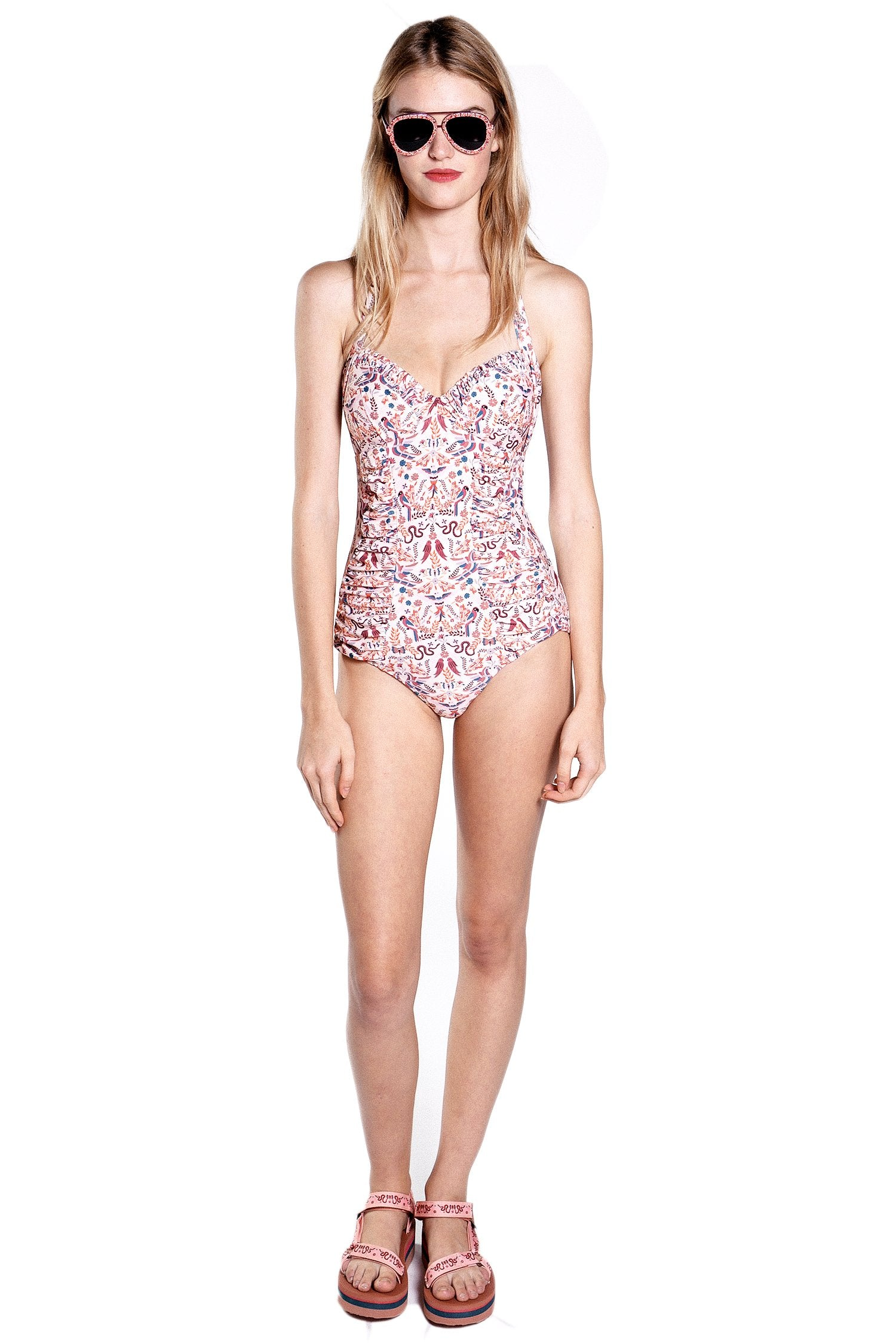Garden of Eden Swimsuit - Anna Sui