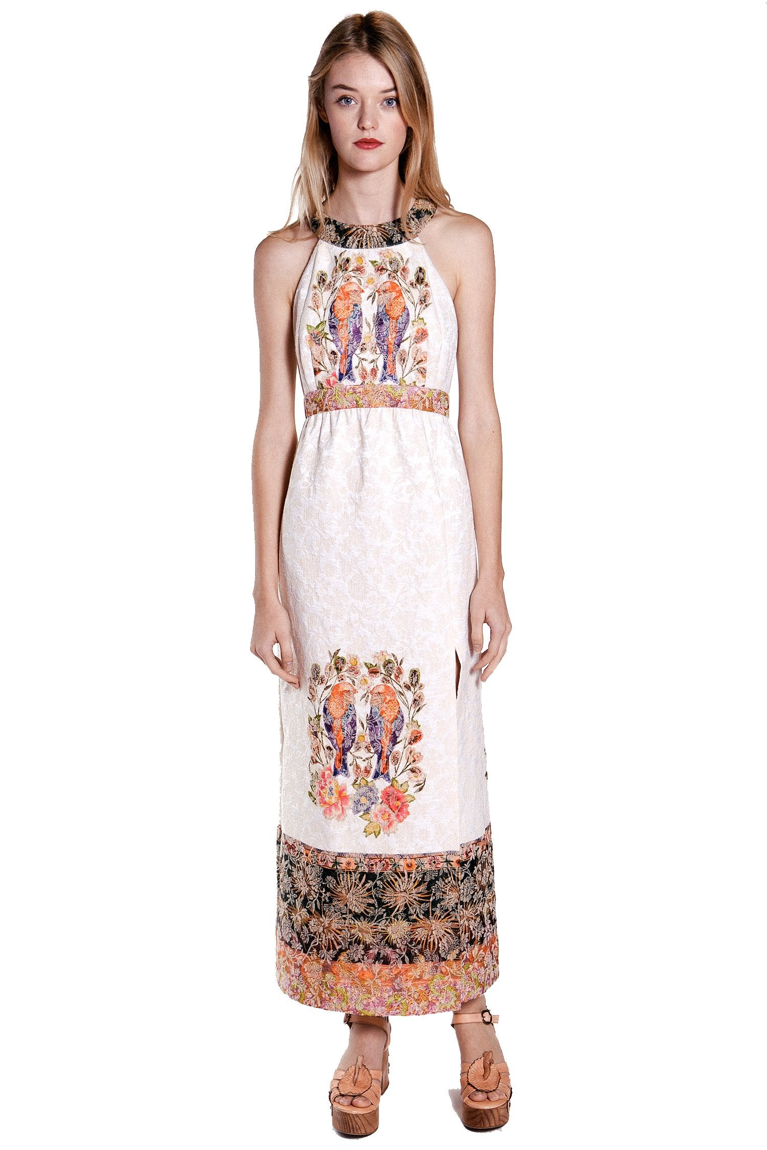 Love Birds Cameo Medley Dress - Anna Sui