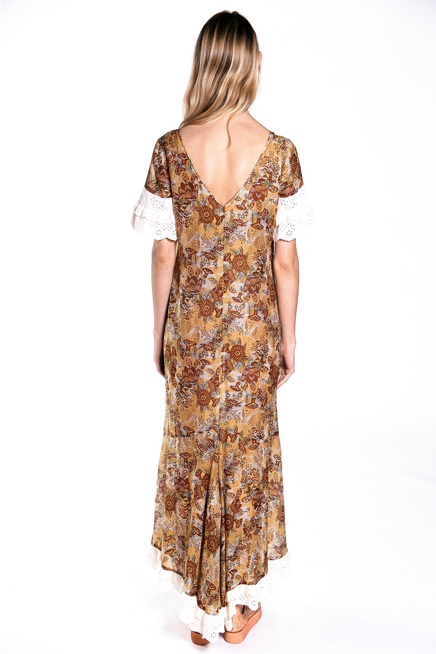 Nightingale Cotton Voile Dress - Anna Sui