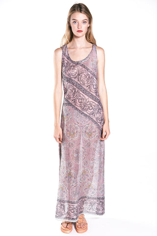 Jewel of the Sea Sparkle Maxi Dress
