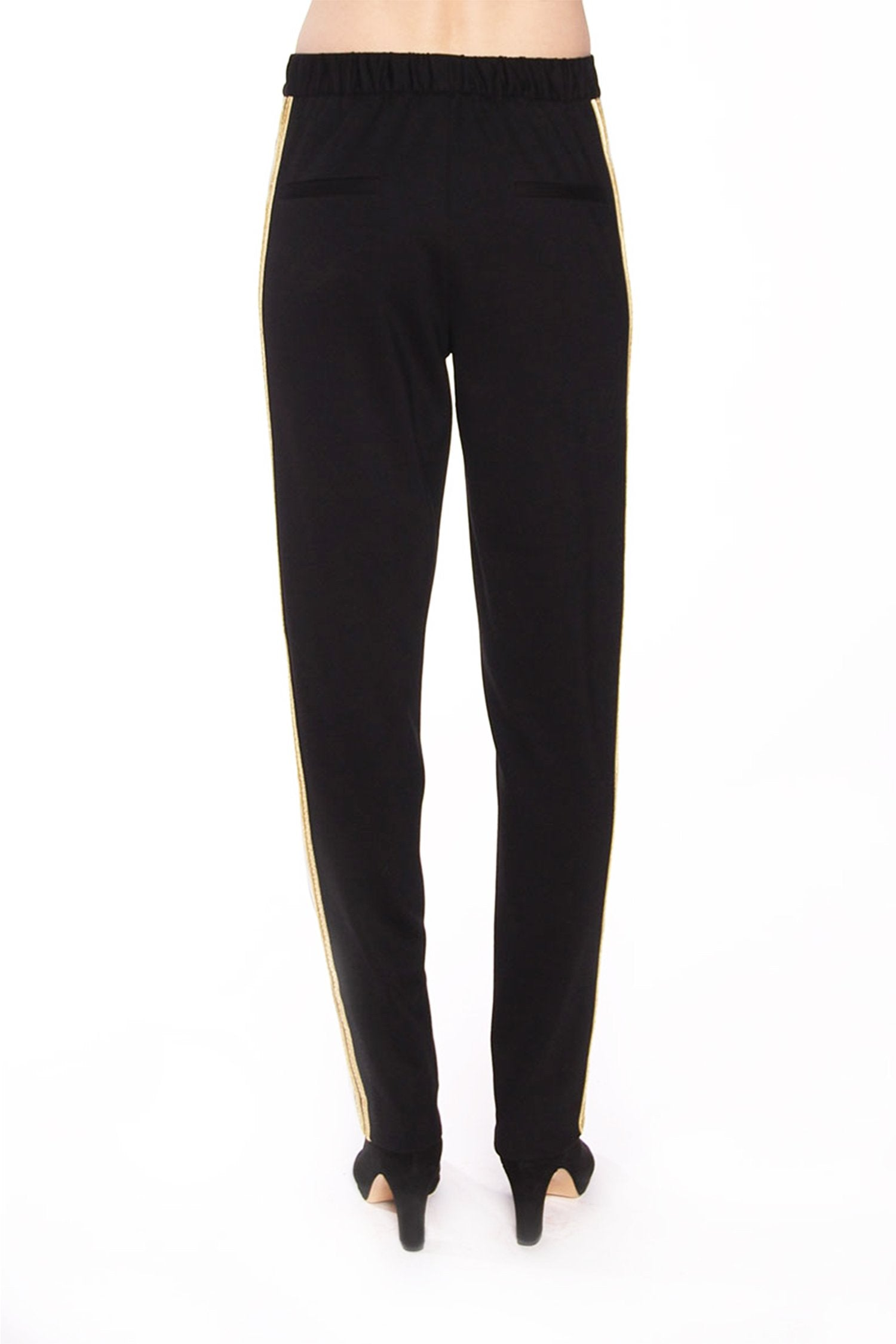 Solid Crepe Pant
