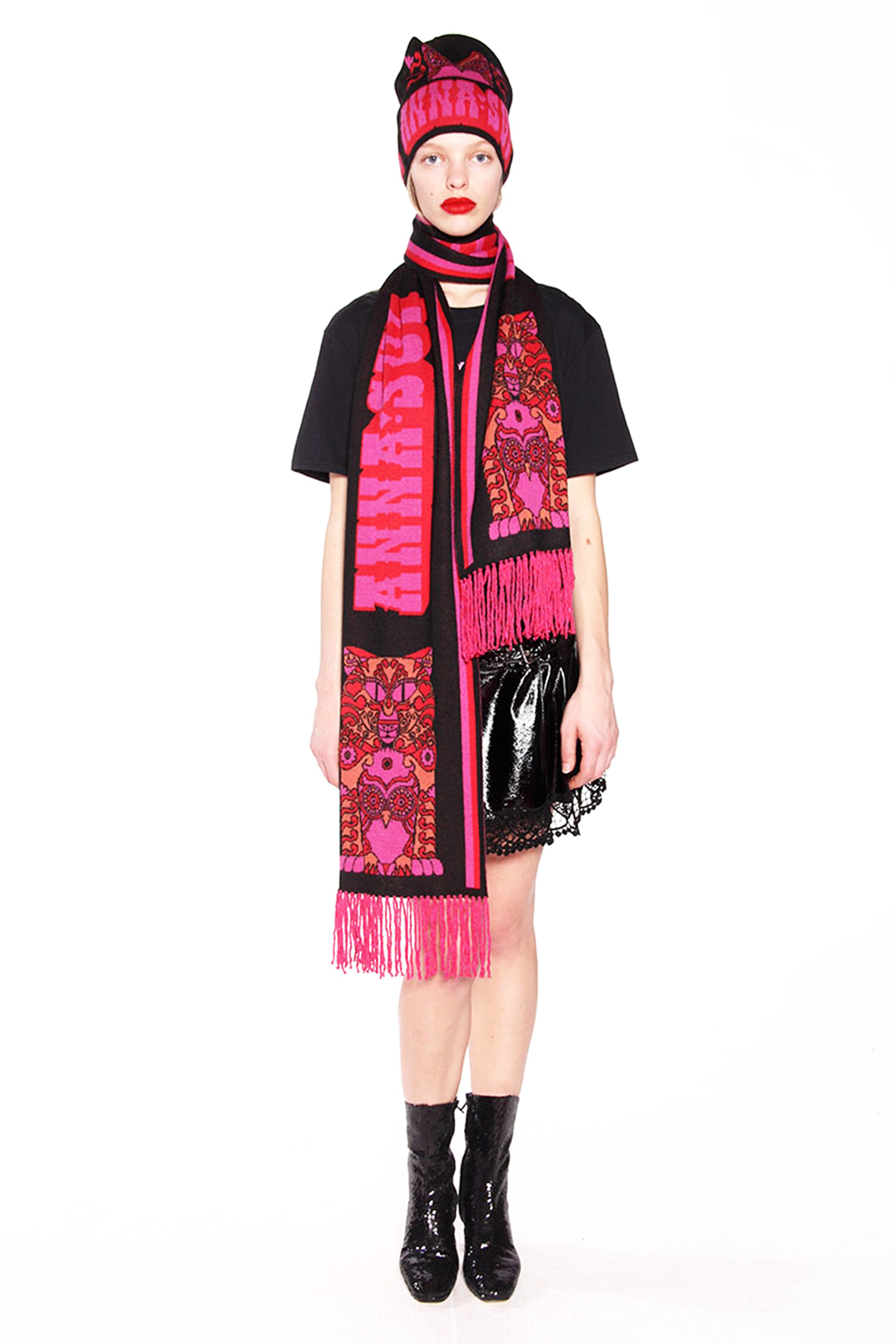 James Coviello For Anna Sui <br>Whoo's That Pussycat? Beanie</br>