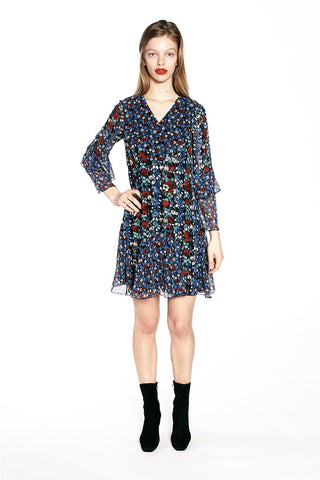 Floral Daze Jacquard Shift Dress