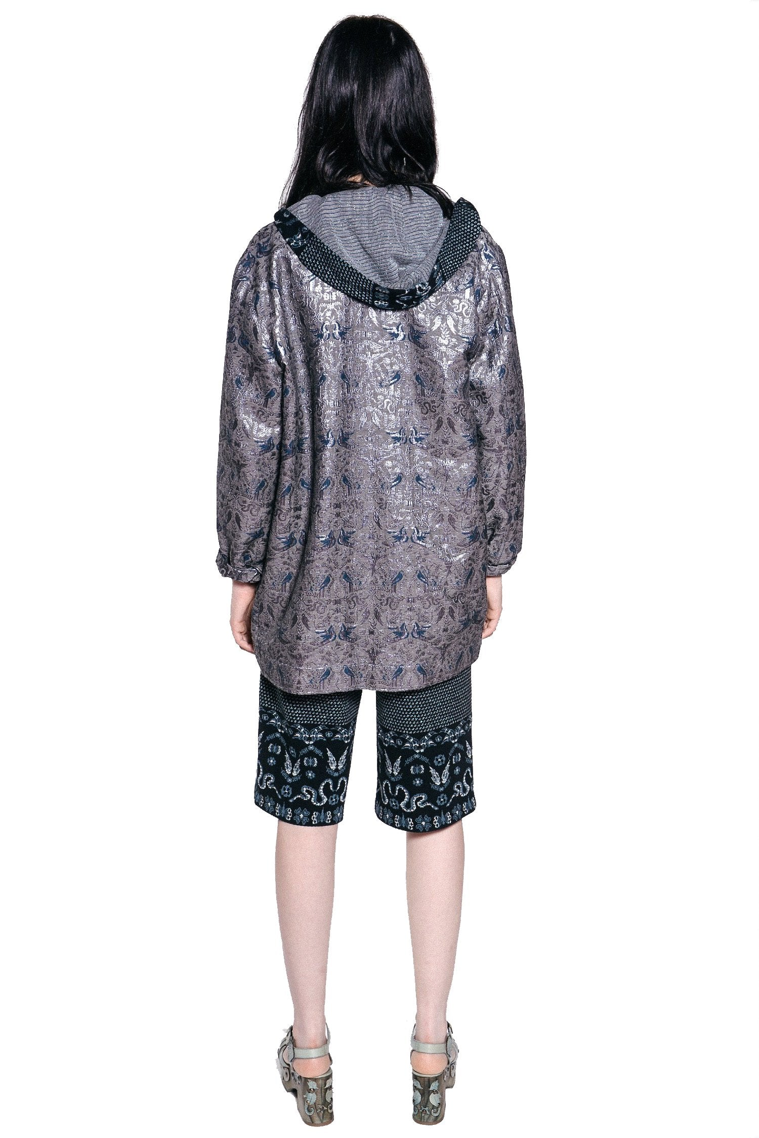 Garden Of Eden Jacquard Coat
