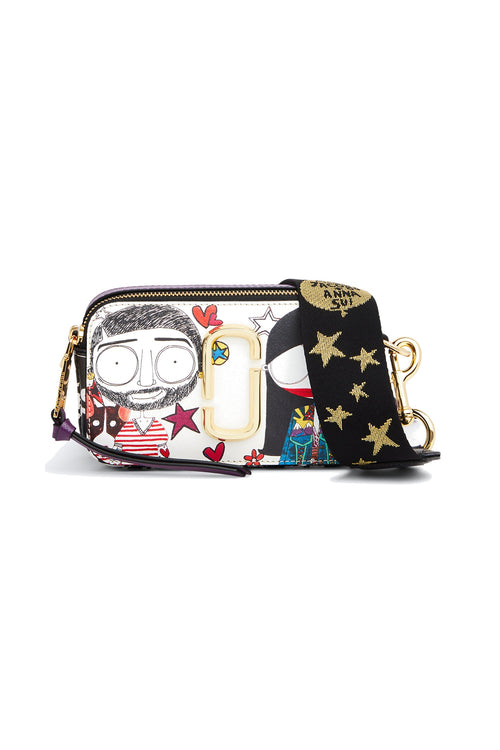 Marc & Anna Printed Snapshot Bag