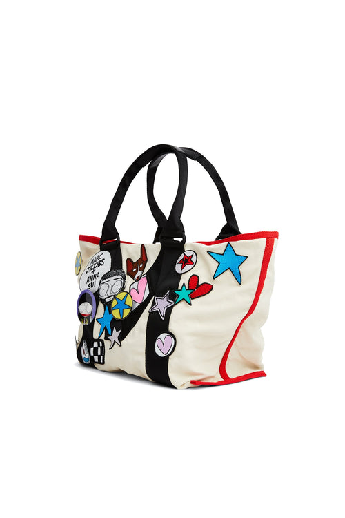 Marc & Anna Embellished Small Tote