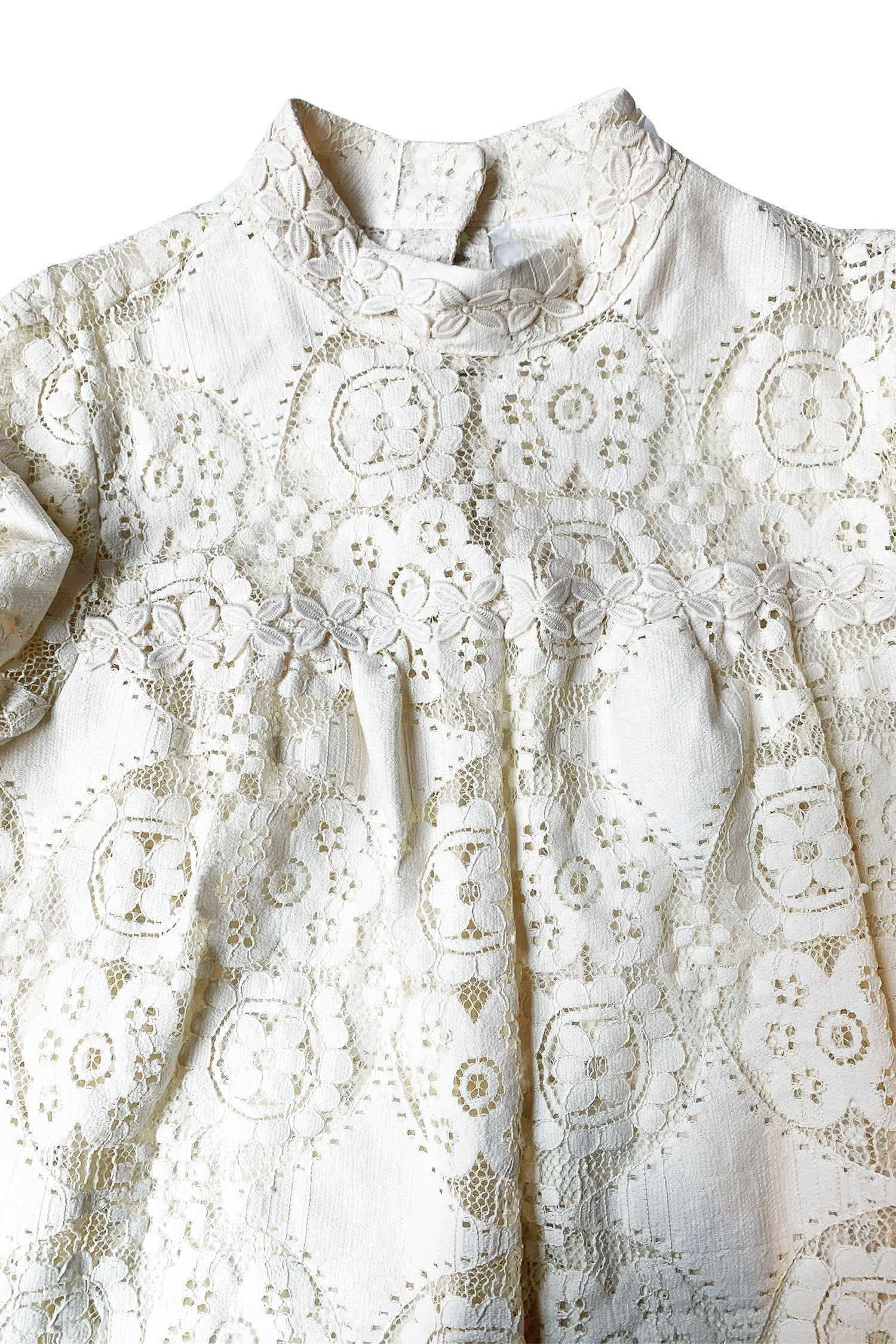 Floral Lace Top - Anna Sui