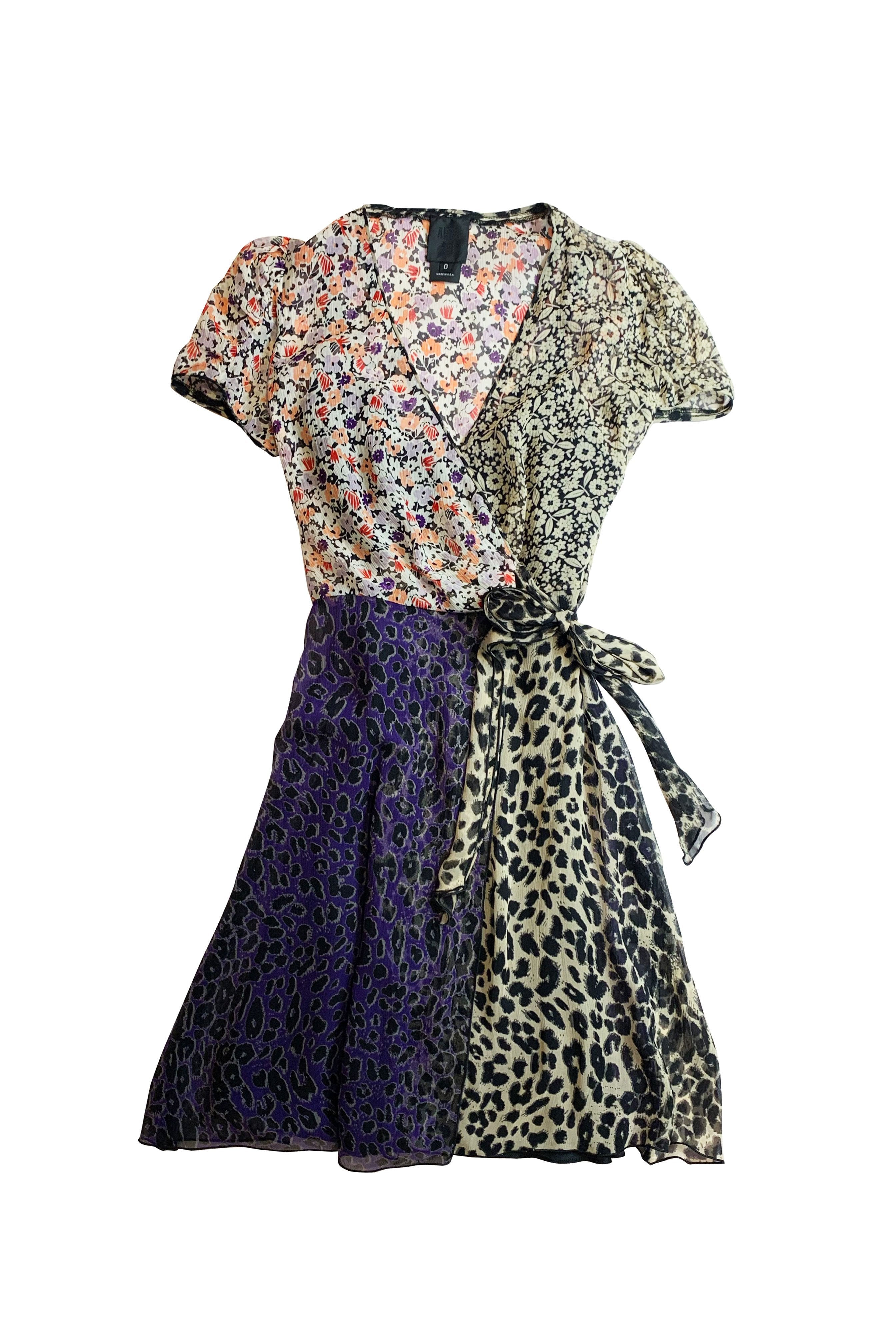 Upcycle Wrap Dress - Anna Sui