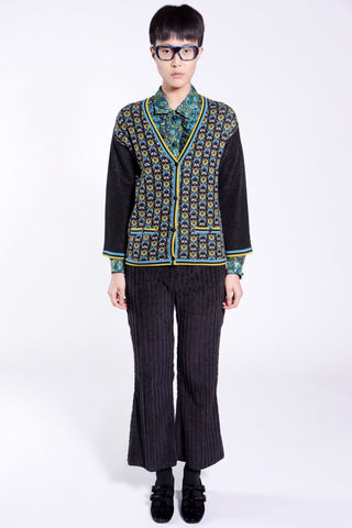 Rose Medallion Border Coat