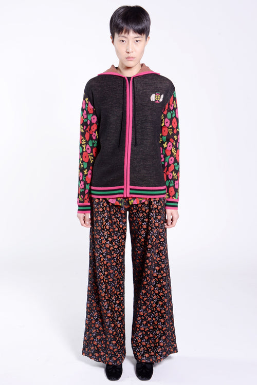 James Coviello Granny House Knits Hoodie - Anna Sui