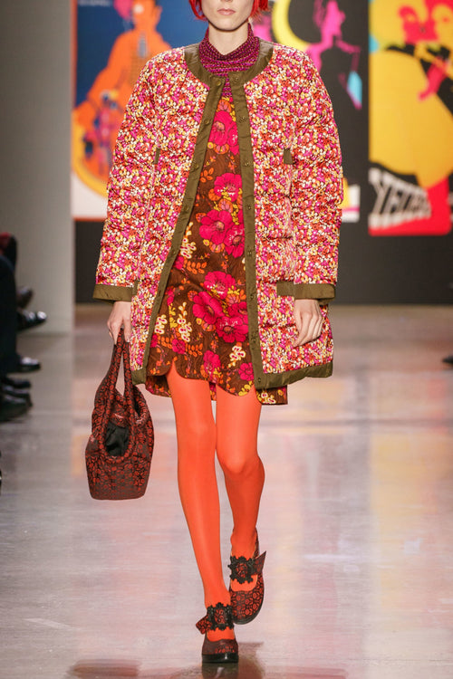 Pop-Pourri Posies Coat - Anna Sui