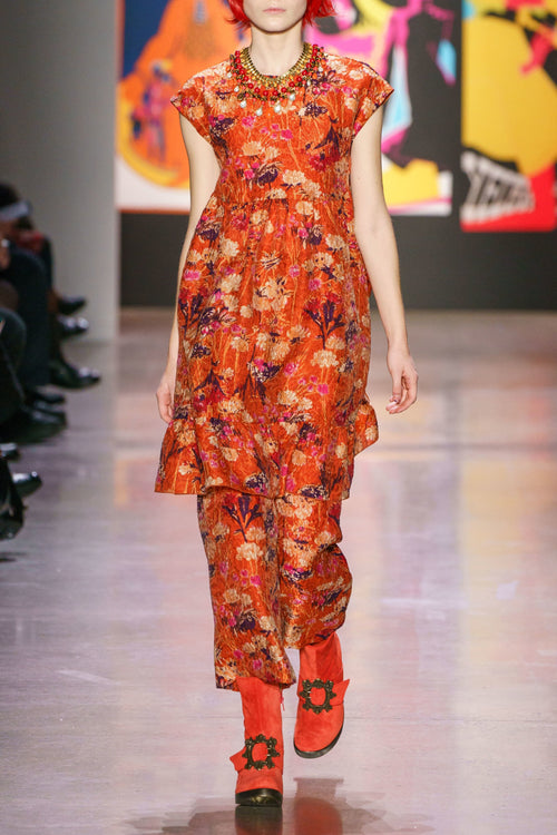 Field of Flowers Pants - Anna Sui