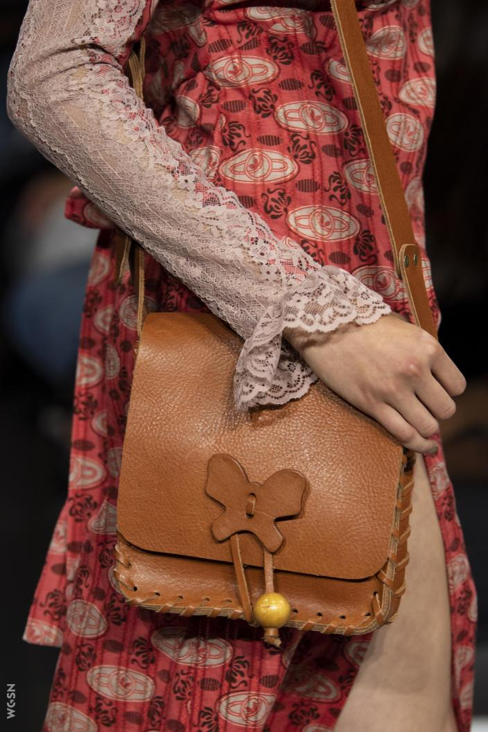 Lauren Crossbody <br> Cognac Leather - Anna Sui