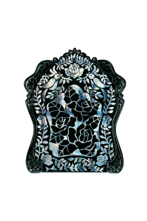 Stained Glass Rose Beauty Mirror - Anna Sui