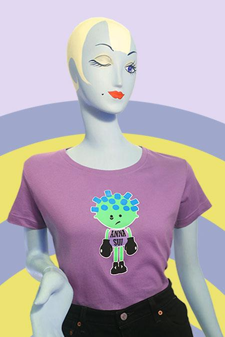 Boxer Tee 1996 - Anna Sui