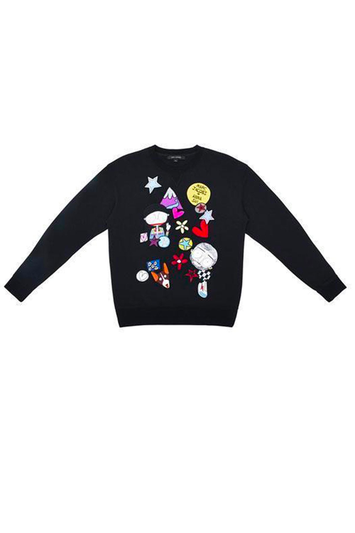 Marc & Anna Embroidered Sweatshirt
