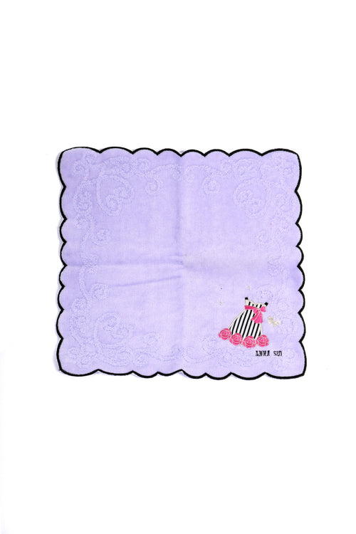 Dress Embroidered Washcloth - Anna Sui