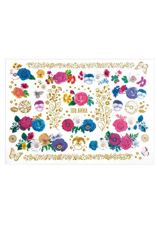 Painted Floral Makeup Palette <br> (Case Only) </br>