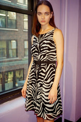 Vintage Zebra Dress <br> Spring 2007 </br> - Anna Sui