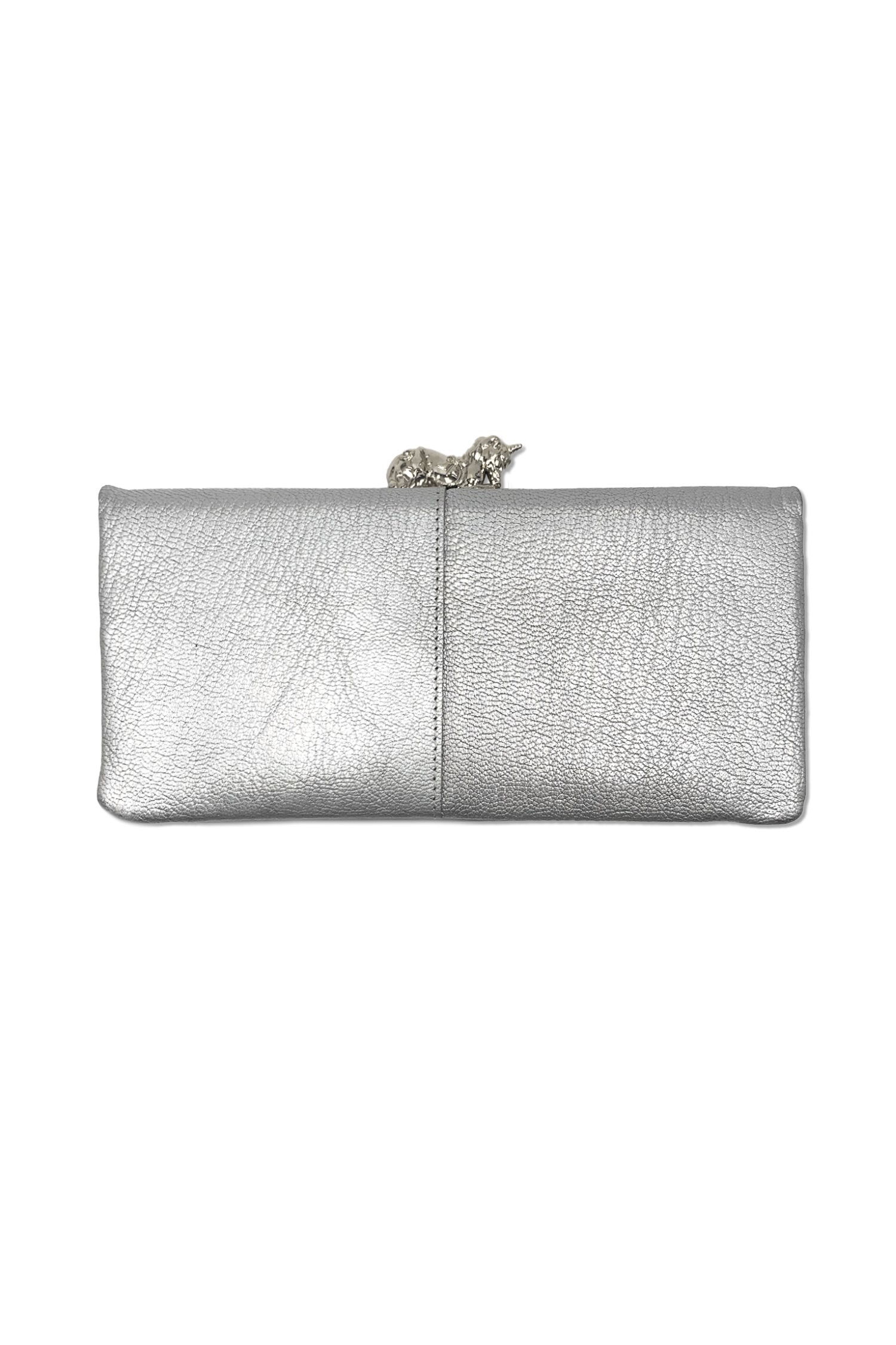 Large Fantasia Wallet with Unicorn Clasp - Anna Sui